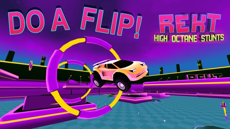 example of marketing for Rekt: High Octane Stunts