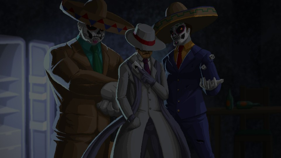 three of the main antagonists in Pecaminosa