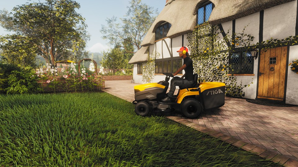 It time for Lawn Mowing Simulator