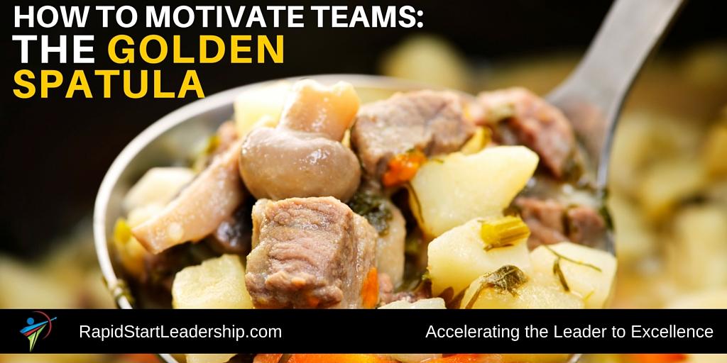 motivating with a kitchen utensil the golden spatula rapidstart