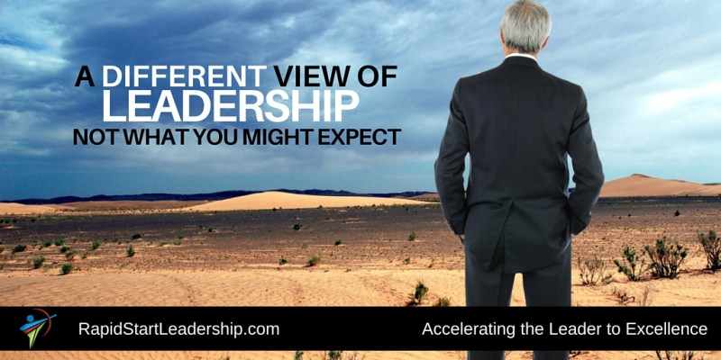 A Different View of Leadership