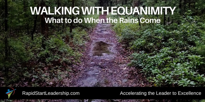 Walking with Equanimity