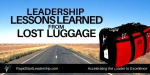 lost luggage leadership