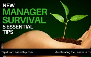 New Manager Survival Tips