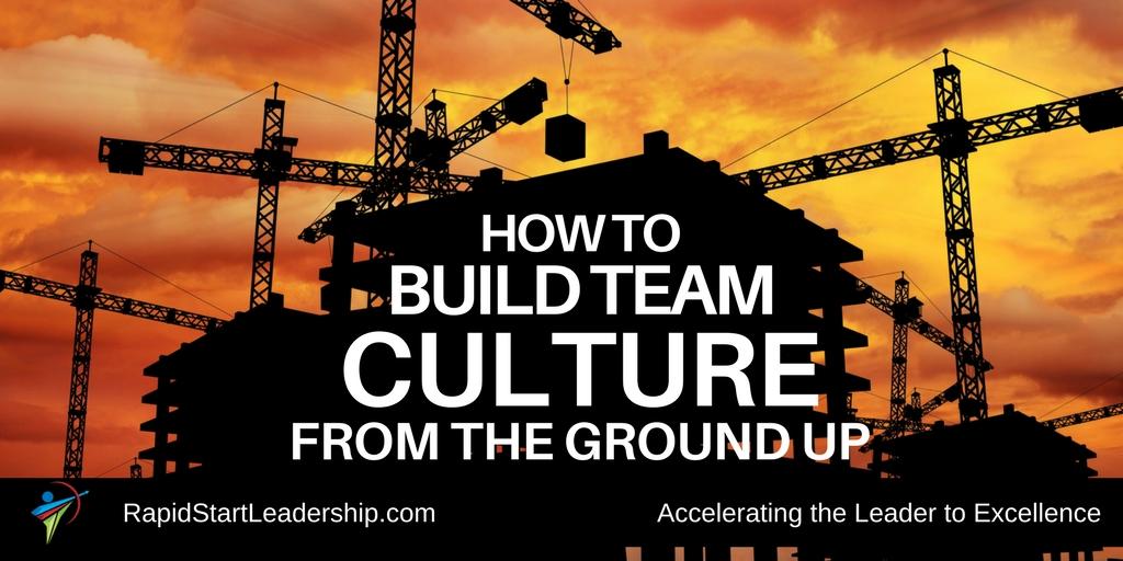 Build Team Culture