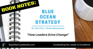 Book Notes - Blue Ocean Strategy: How Leaders Drive Change