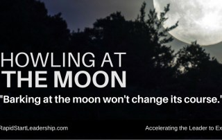 Howling at the Moon: One Way to Handle Criticism