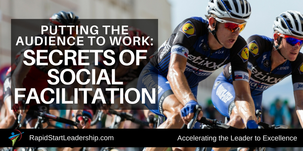 Social Facilitation - Putting the Audience to Work