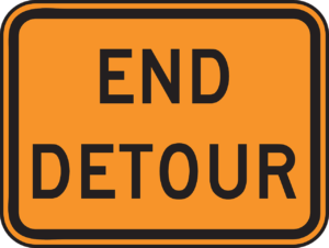 Optimization and Efficiency - Detour Sign