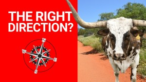 Finding the Right Direction: How do you Know Which Way to Go?