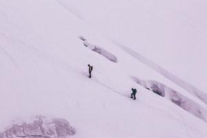 Type 2 fun - Mountain Climbing
