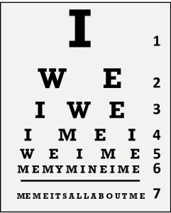 Leadership Eye Test Chart
