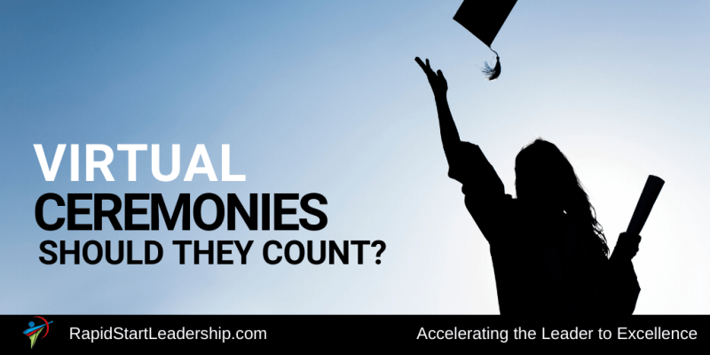Virtual Ceremonies - Should They Count?
