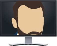 Video Conference Characters - The Nosey