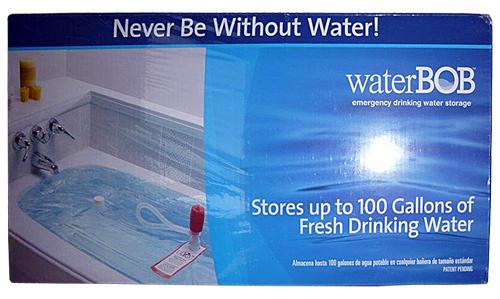 WaterBOB Water Storage Solution Rapid Survival