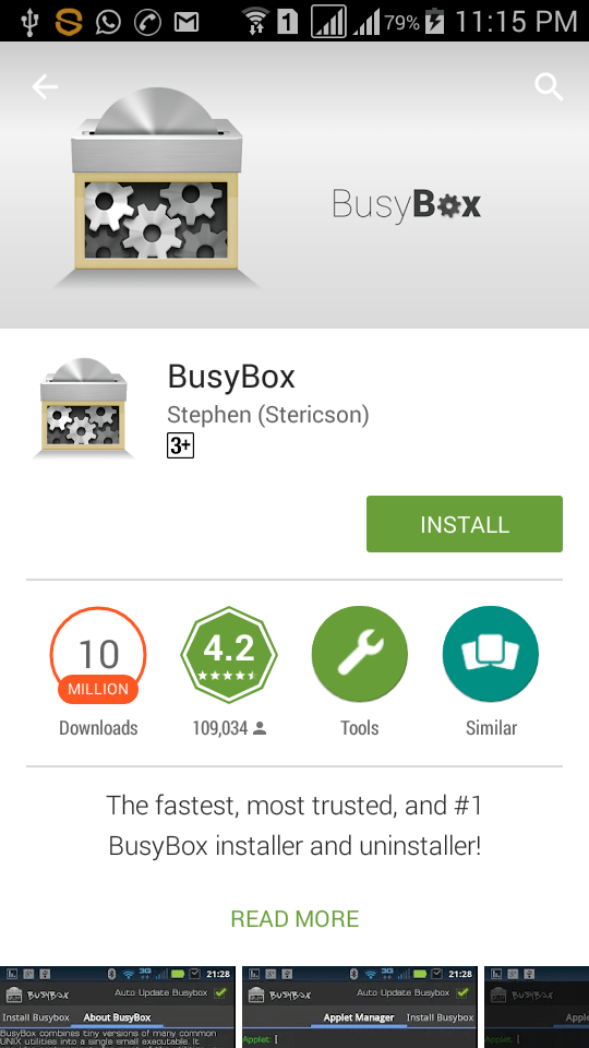 Change android MAC address using busybox