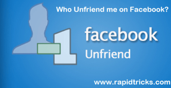 How To Know Who Unfriend You On Facebook