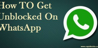 How TO Get Unblocked On WhatsApp