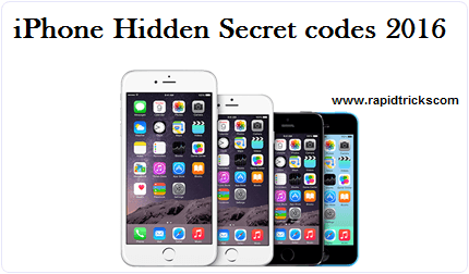 IPhone best hidden secret codes 2016