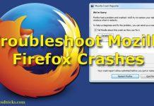 How TO Fix Mozilla Firefox Crashing Problem