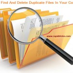 How To Find Duplicate Files And Delete Them In Your Computer