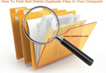 How To Find And Delete Duplicate Files In Your Computer