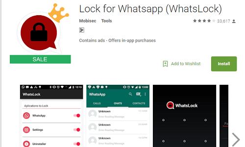Top WhatsApp Tricks and Cheats Of 2017 - WhatsApp locker