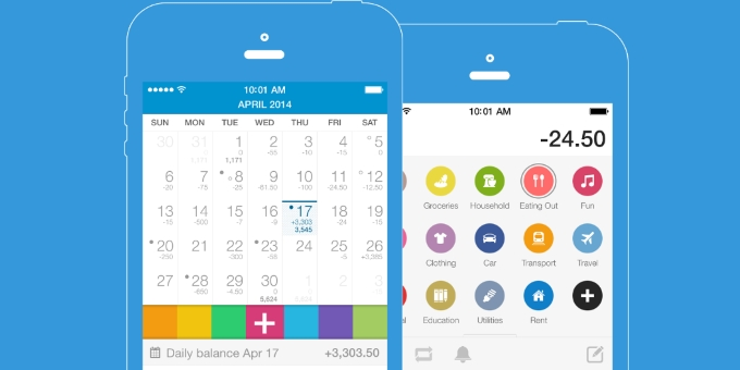 Expense Manager ios Features