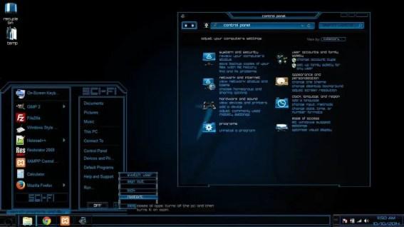 Sci-Fi - Best windows 10 theme