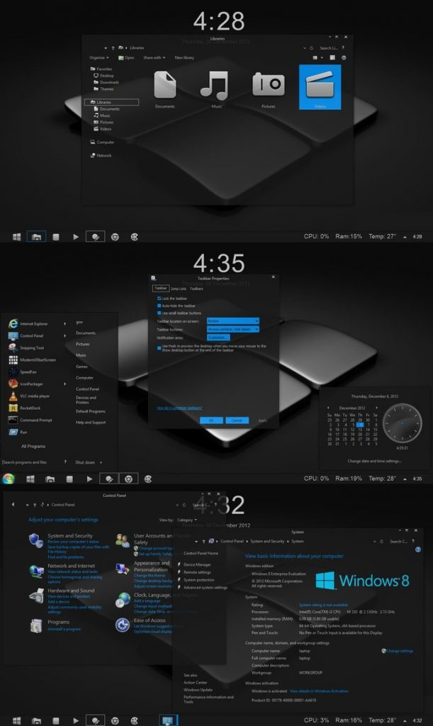 Gray 8.1 Theme for Windows 8.1 and windows 8