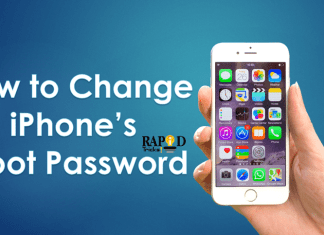 How to change iPhone root password