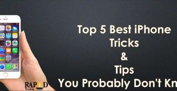 Best iPhone Tricks & Tips