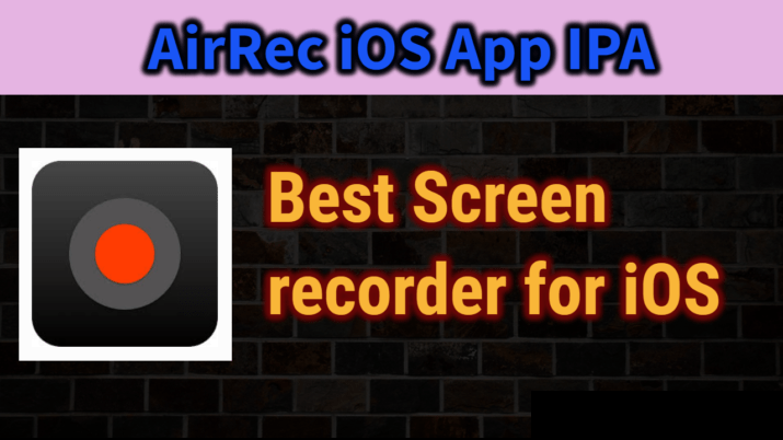Airrec Screen Recorder iOS