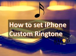 iPhone Custom Ringtone