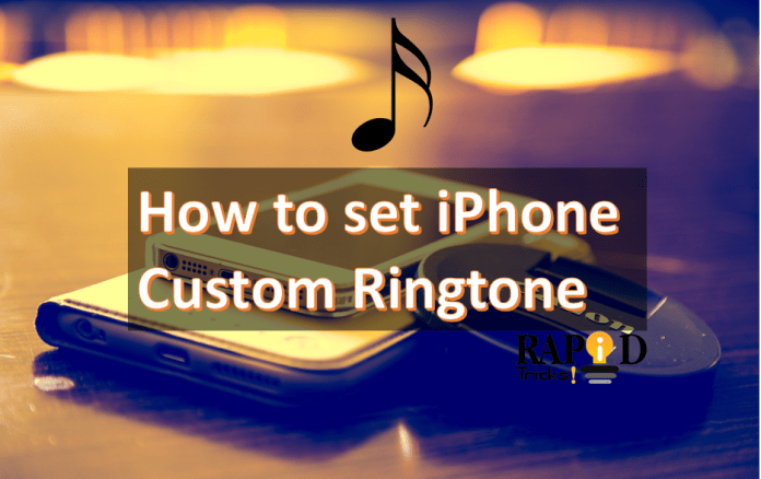 iPhone Custom Ringtone