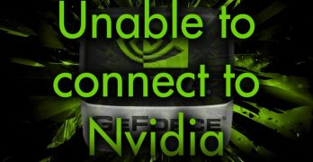 Unable to Connect to NVIDIA