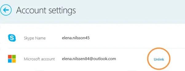 How to delete skype account - Unlink Microsoft account
