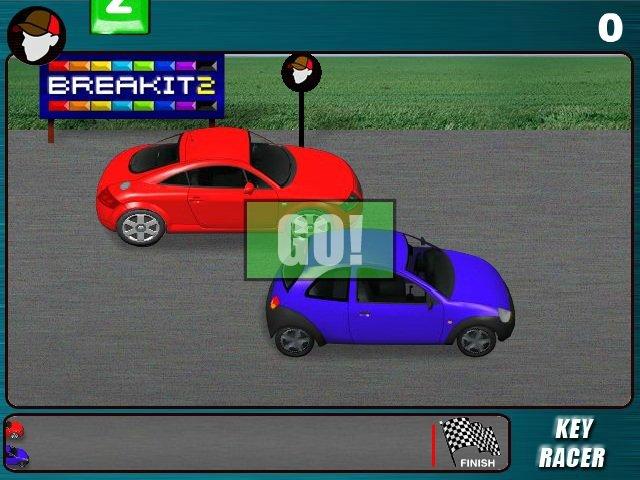 Keyboard Typing Games Car Racing