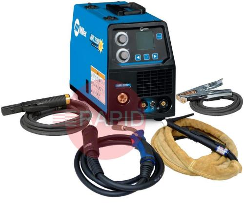 small resolution of 059016014mppk miller mpi 220p multi process pulse mig tig arc ready to weld package