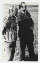 Ermi Littover ja Endel Asser Rapla kodu-uurijate kokkutulekul augustis 1976 - MT_231_12F