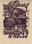Aasa ja Edvard Saaron Raplast- 1968 veebr