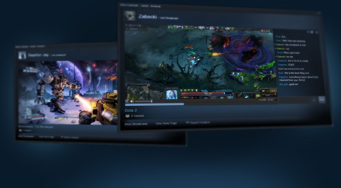 Steam takes on Twitch with built-in game streaming