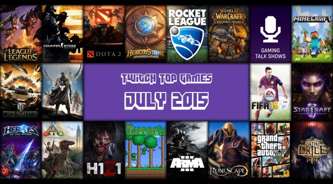 Top Games for July 2015 – Rocket League Edition