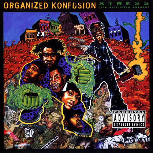 Organized Konfusion – Stress: The Extinction Agenda