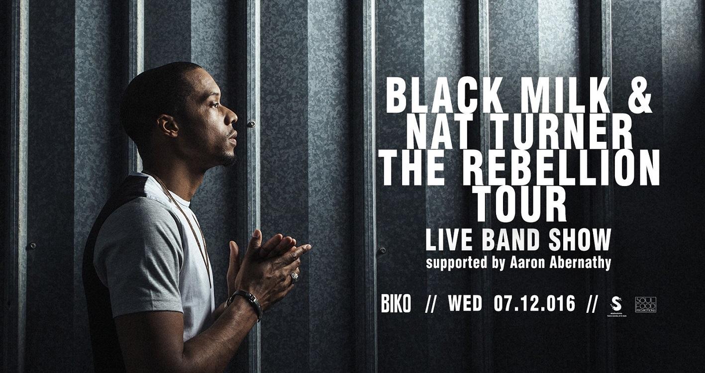 Black Milk live a Milano – 7 dicembre 2016