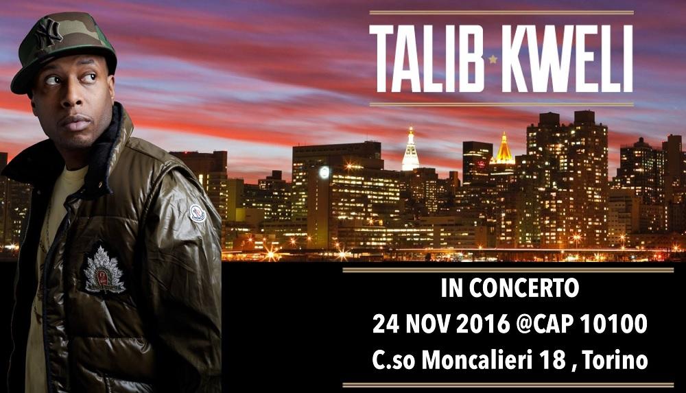 Talib Kweli live a Torino – 24 novembre