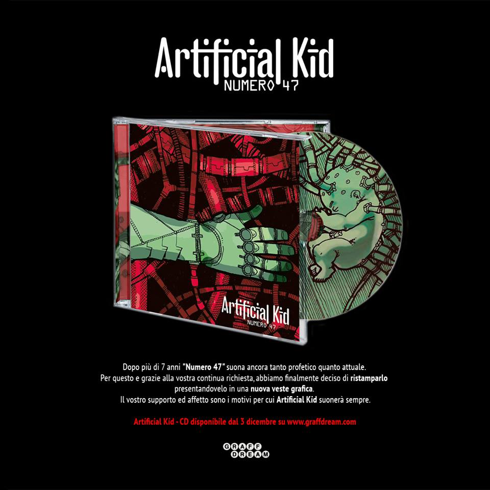 Finalmente disponibile la ristampa degli Artificial Kid!