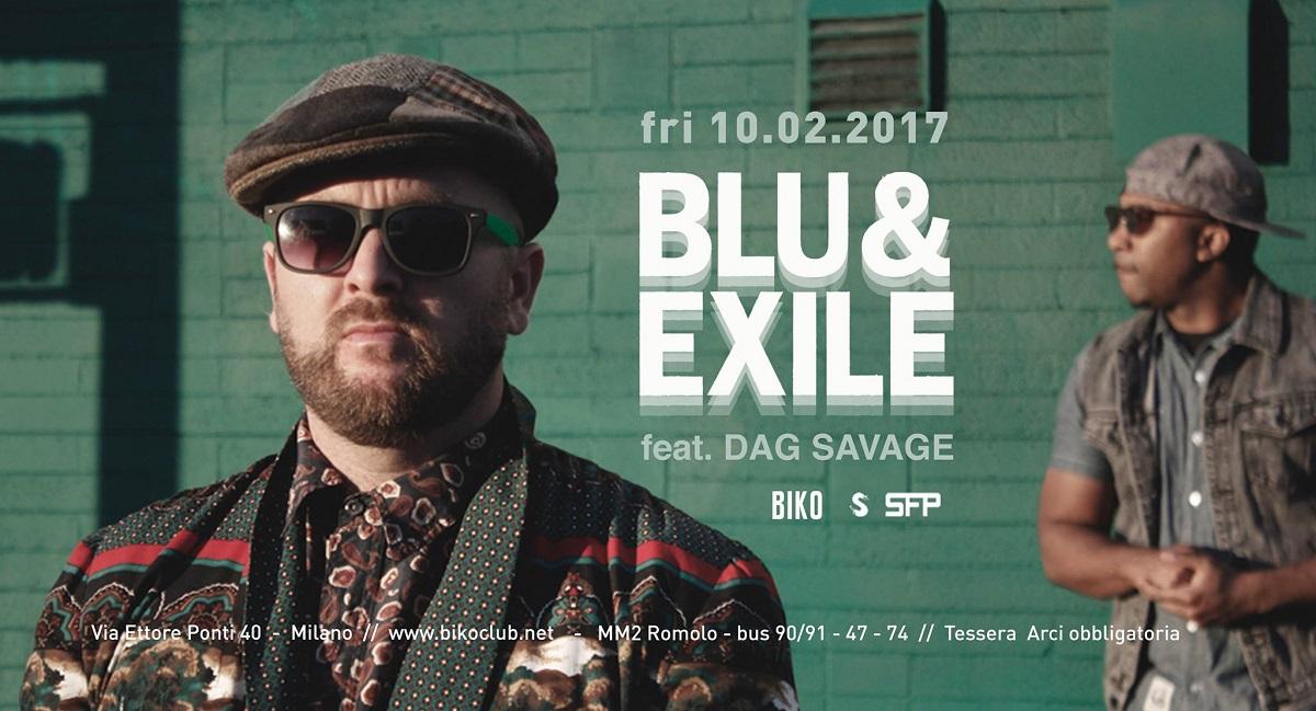 Blu & Exile live a Milano – 10 febbraio 2017