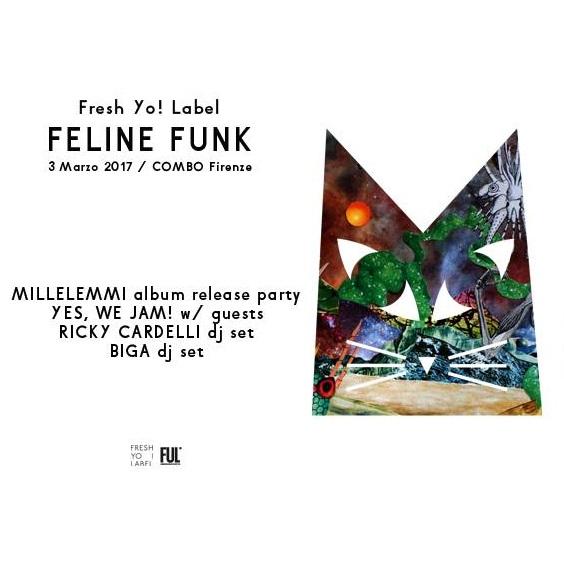Millelemmi presenta Italodelicastrofunk a Firenze il prossimo 3 marzo