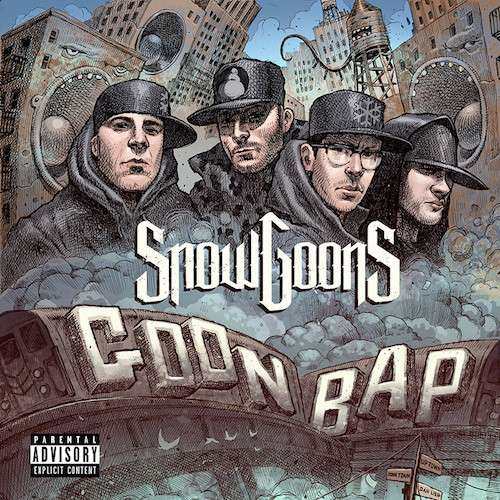 Snowgoons feat. Conway, Banish and Recognize Ali – Solid Gold Guns